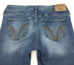 "Hollister Stretch Blue Jeans Size: Juniors 1 Regular Tag 25""X33"" Actual ... - $14.69"