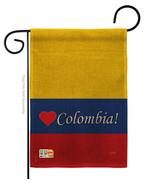 Colombia Burlap - Impressions Decorative Garden Flag G158161-DB - $22.97