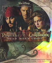 Pirates of the Caribbean Dead Mans Chest DVDs Family Comedy Blu-ray 2 Di... - $7.91