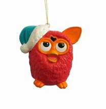 Kurt S Adler Red Furby Orange Ears Blue Santa Hat Christmas Ornament New - $14.45