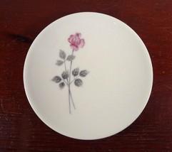 "ROYAL DOULTON ENGLISH China ""Pillar Rose"" Design 5"" Butter Pat Coaster - $5.00"