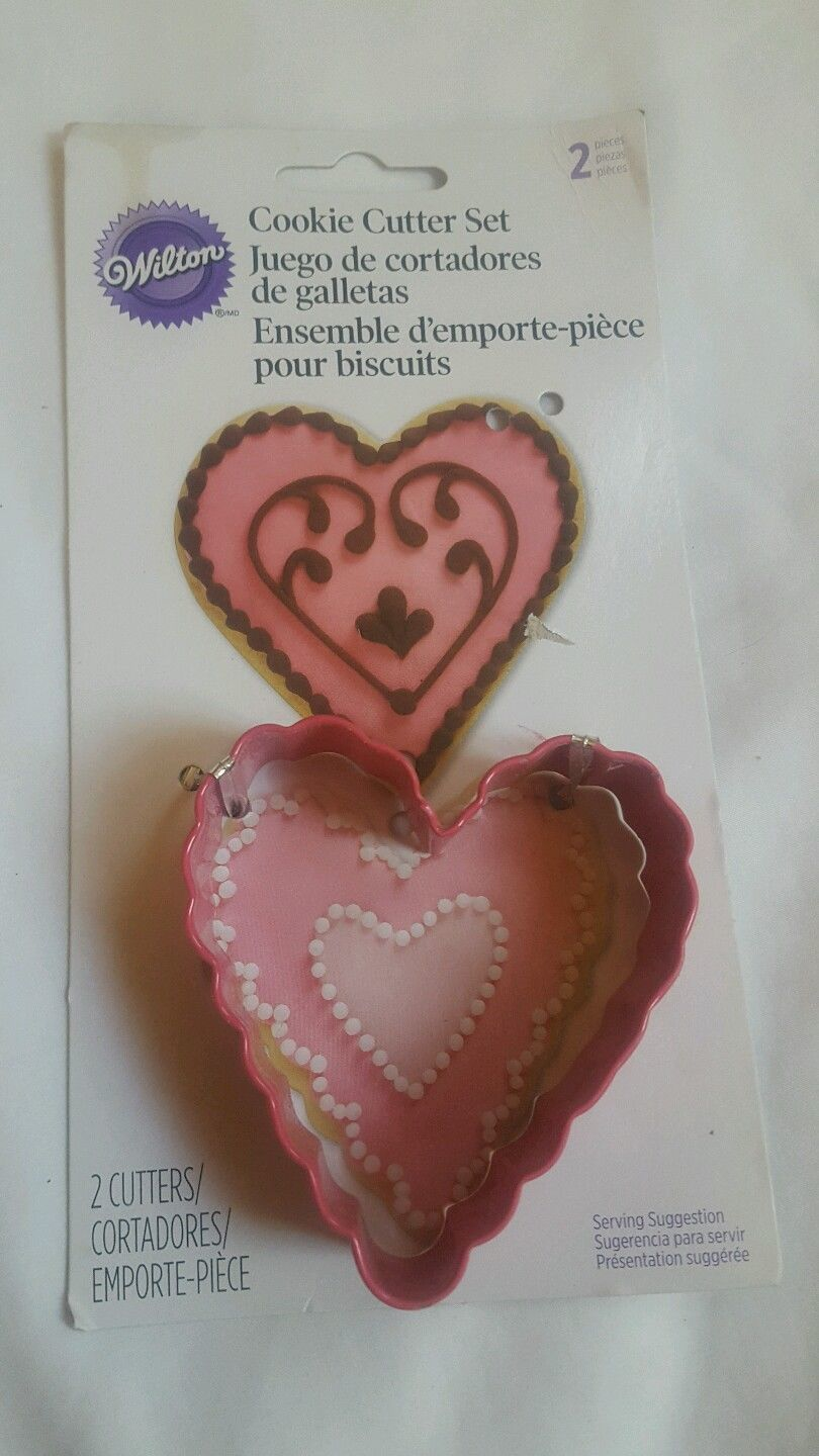 Primary image for Wilton Heart Cookie Cutter (only 1) New Unused Great Condition Valentine's Day