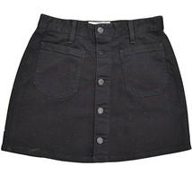 Denim & Supply Ralph Lauren Women's Button Front Denim Skirt Black 31 - $44.30