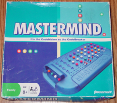 MASTERMIND GAME 2008 PRESSMAN TOYS #3018C AGES 8 & UP COMPLETE - $15.00