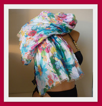 New Ralph Lauren Polo Scarf - Floral Print - $28.40