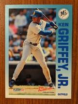 1992 Fleer The Performer - Ken Griffey Jr - #4 of 24 - Lot #1 - Fast Shi... - $1.97
