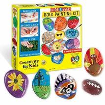 Creativity for Kids Hide & Seek Rock Painting Kit Arts & Crafts For Kids  - $12.52