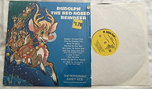 Rudolph The Red Nosed Reindeer Vinyl Lp Record Vinyl The