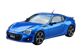 Aoshima 51610 The Model Car 10 SUBARU ZC6 BRZ '12 1/24 scale kit - $33.78