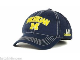 official photos 0d543 d2f41 MICHIGAN WOLVERINES - TOP OF THE WORLD SIMPLICITY NCAA TEAM LOGO CAP HAT.