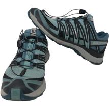 Salomon Womens XA Comp 8 Teal Trail-Running Shoes Size 10 Contragrip Hiking  - $64.34