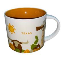 Starbucks You Are Here Collection Coffee Mug ~ Texas 2017 - $24.65