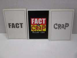 Imagination Fact or Crap board game REPLACEMENT ANSWER CARDS - $4.90