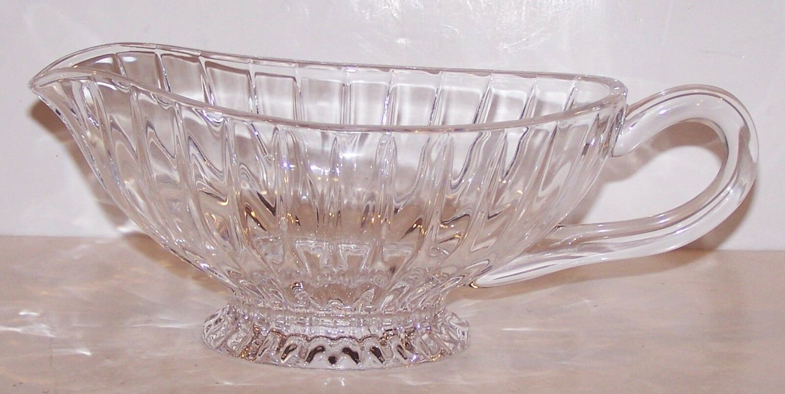 Primary image for STUNNING MIKASA CRYSTAL PARK LANE GRAVY/SAUCE BOAT