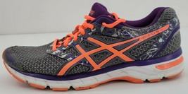 Asics Womens GEL-Excite 4 Round Toe Lace Up Multicolor Athletic Shoes Size US 10 - $46.71