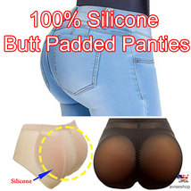 Brief Silicone Pads Butt and Hip Enhancer BOOTY Pads Panty Push Up Best selling - $18.99