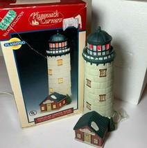 Vintage 1996 Lemax Porcelain Lighted House Christmas Olde Portsmouth - $14.95