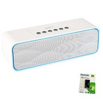 Portable Bluetooth Stereo Speaker, with 2X5W Acoustic Drivers, Dual Subw... - $40.78