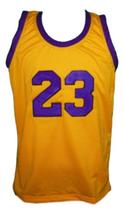 Martin Payne #23 Tv Show Basketball Jersey New Sewn Yellow Any Size image 1
