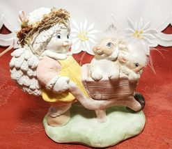 "Dreamsicles Figurine ""Springtime Frolic"" 1993 Approx 5"" x 5"" image 1"