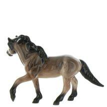 Hagen Renaker Miniature Horse Mustang Stallion Light Bay Ceramic Figurine Boxed image 5