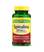 Spring Valley Spirulina Capsules, 400mg, 90 Count..+ - $12.99