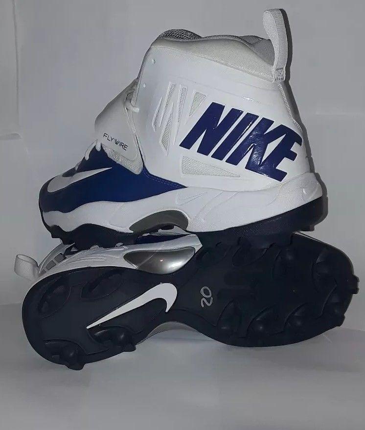 d5d0e44e456 Nike Flywire Men s Lineman 3 4 TD Football Cleats Size 14 football gear