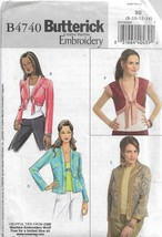 Butterick Creative Machine Embroidery Pattern B4740-Misses Jacket-Sizes ... - $4.95