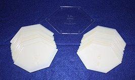 "Mylar 2"" Sides-Flattened 90 Hexagon 51 Piece Set - $27.99"