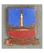WWII Army 91st Field Artillery Regiment DUI Insignia Crest Screwback Pin... - $19.80