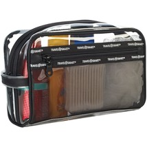Travel Smart Transparent Sundry Pouch And Cosmetic Bag CNRTS78SK - $18.93