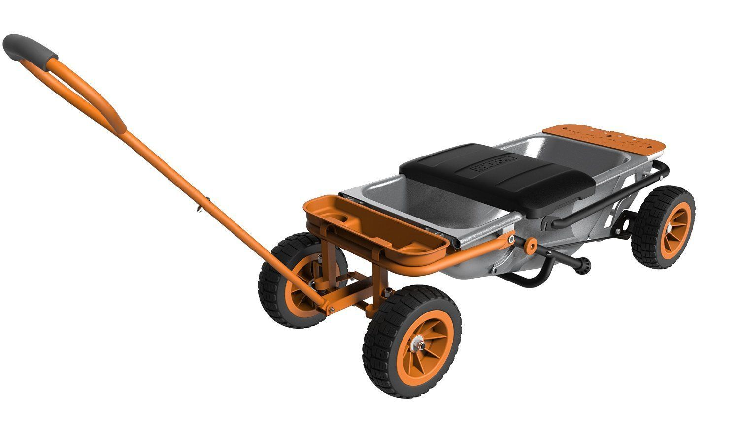 WORX WA0228 AeroCart Wagon Kit Lawn Garden Utility Wheelbarrow Dolly Cart Wagon