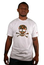 SSUR Controlled Substance Weed Drugs Marijuana Leaf Graphic Tee Skull T-Shirt