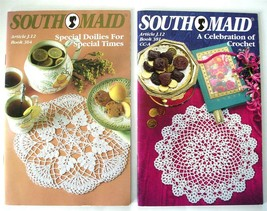 2 South Maid Doily Pattern Books - Special Doilies & A Celebration of Cr... - $6.60