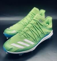 NEW Adidas Adizero New Speed Neon Green Baseball Cleats F34363 Size 13 - $69.29