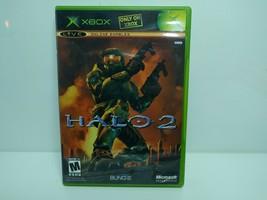 Halo 2 (Microsoft Xbox, 2004) Complete In Box