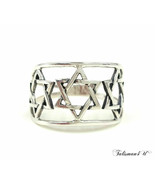 Sterling Silver Star Of David Ring Kabbalah Judaica Jewelry From Israel ... - $18.56+