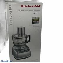 KitchenAid 7 cup Food Processor Exact slice System Thick/Thin Slice KFP0... - $99.00