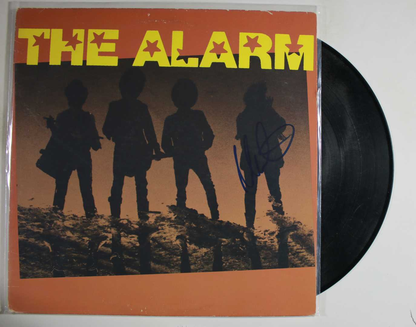 "Primary image for Mike Peters Signed Autographed ""The Alarm"" Record Album"