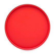 Kraftware Bartender's Choice 14-Inch Round Serving Tray in Red - $29.99