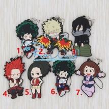 Anime My Hero Academia Boku no Hero Akademia Keychain Rubber Strap Katsuki - $3.93+