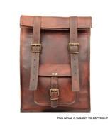 Mens Boy Leather Laptop Bag Backpack Rucksack Satchel For School Busines... - $60.88