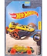 2017 Hot Wheels TREASURE HUNT  X-Raycers 8/10 ARROW DYNAMIC Trans Yellow... - $5.99