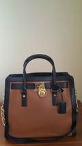 MICHAEL KORS Hamilton Frame Out Luggage/Black NS Tote - $226.97