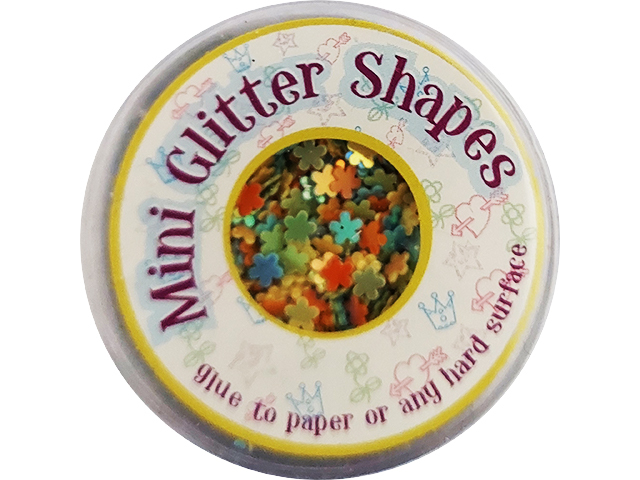 Sulyn Industries Tiny Flowers Mini Glitter Shapes #22411-01