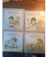 Set of 4 A Childrens Book about Manners Help me be good bad sport rude G... - $9.97