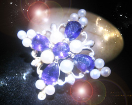HAUNTED ANTIQUE NECKLACE THE MASTER'S SACRED MIRRORS OOAK SECRET MAGICK POWER  - $9,077.77