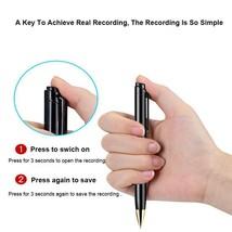 Portable Voice Recorder Pen Digital Audio Recording Noise Reduction Mp3 ... - $43.99