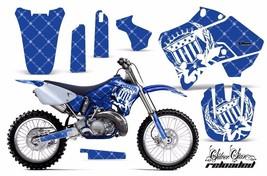 Dirt Bike Graphic Kit Decal Sticker Wrap For Yamaha YZ125 YZ250 96-01 RELOAD W U - $169.95