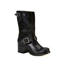 Black Vera Genuine Hair Calf Short Boot, Size 6 - 10M Frye $438 NIB - $142.76+